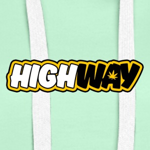 The Official Highway Fanshirt - Felpa con cappuccio premium da donna