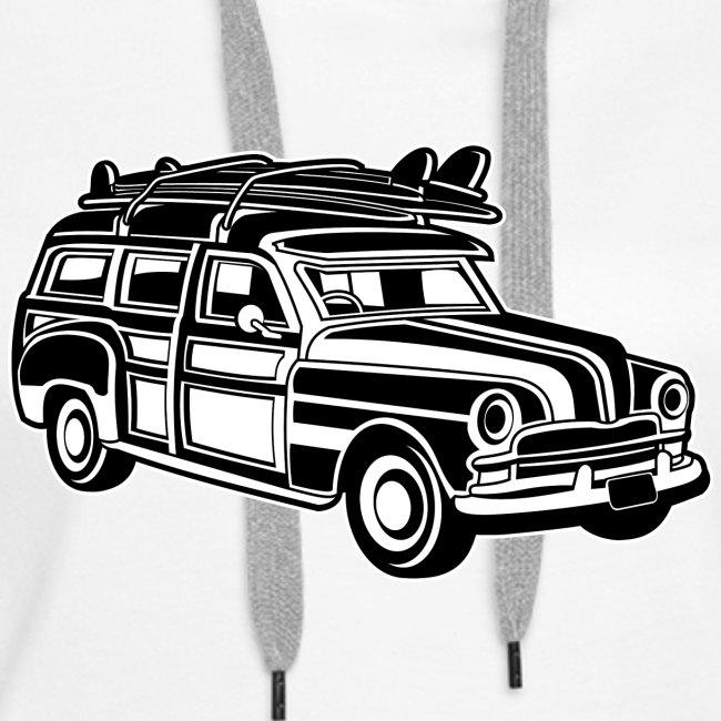 Chevy Cadilac Woodie / Oldtimer Kombi 01_sw