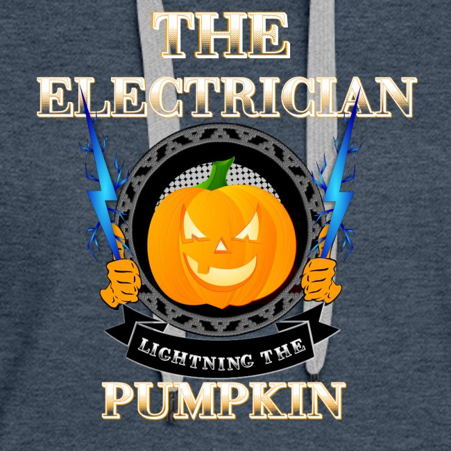 The Electrican lightning the Pumpkin
