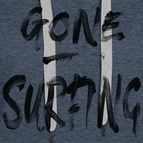 Gone Surfing - Frauen Premium Hoodie