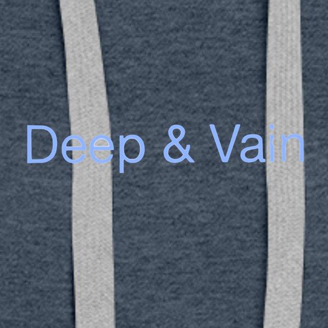 Deep&Vain Text Logo