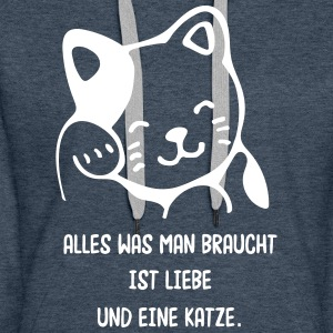 Kitty the Cat - Frauen Premium Hoodie