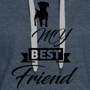 dog best friend - Women's Premium Hoodie