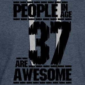 PEOPLE IN AGE 37 ARE AWESOME - Women's Premium Hoodie