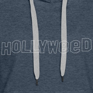 Hollyweed shirt - Sweat-shirt à capuche Premium pour femmes