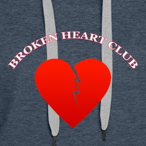 Broken Heart Club - Women's Premium Hoodie