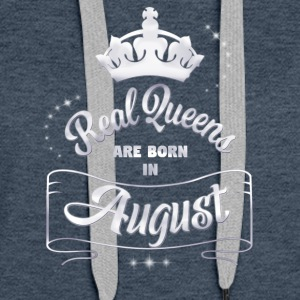 Queens august - Premium hettegenser for kvinner