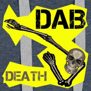 DAB DEATH YELLOW / Yellow dab of death - Women's Premium Hoodie