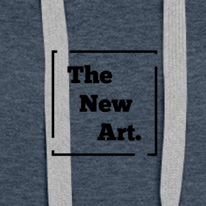 THE NEW ART - Sweat-shirt à capuche Premium pour femmes