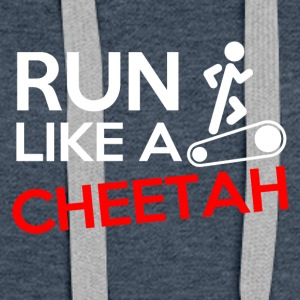 Run like a cheetah! - Women's Premium Hoodie