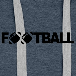 FOOTBALL - Sweat-shirt à capuche Premium pour femmes