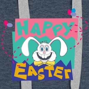 Easter Happy Easter Bunny - Women's Premium Hoodie