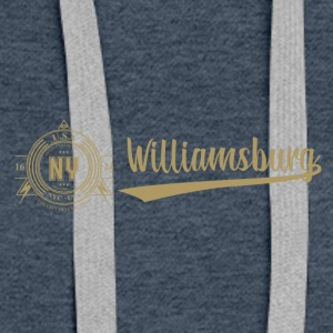 New York · Williamsburg - Premium hettegenser for kvinner