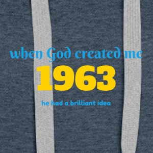 God idea 1963 - Women's Premium Hoodie