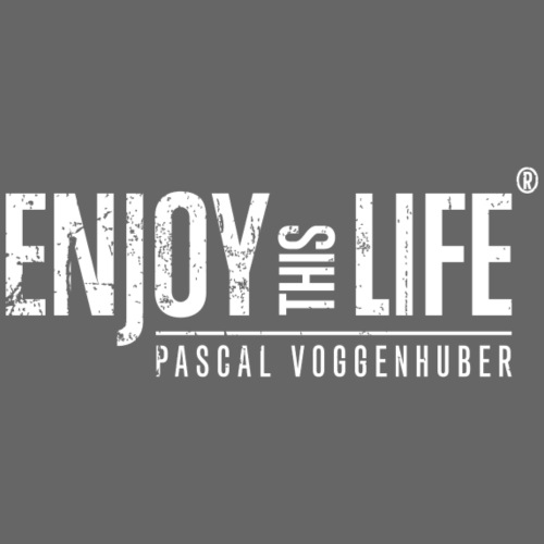 Enjoy this Life® Classic weiss Pascal Voggenhuber