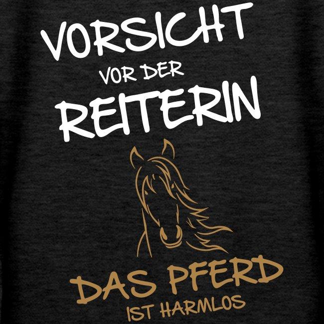 Vorschau: Vorsicht vor der Reiterin - Frauen Premium Hoodie