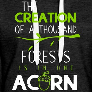 The creation of a thousand forests - Women's Premium Hoodie