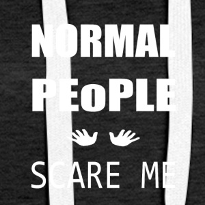 Normal People - Women's Premium Hoodie