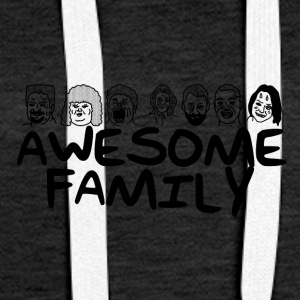 Awesome Family <3 - Frauen Premium Hoodie