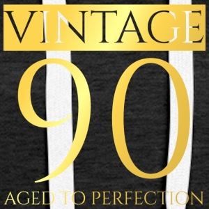 90th Birthday: Vintage 90 - Aged To Perfection - Women's Premium Hoodie