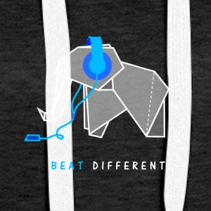 beat different elefant - Frauen Premium Hoodie