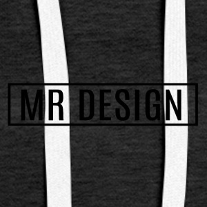 MR DESIGN - Bluza damska Premium z kapturem