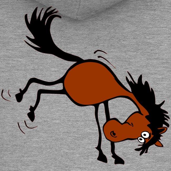 buckelndes Pferd
