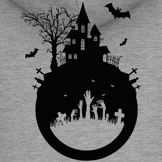 Haunted House - Halloween Design