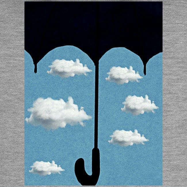 Ombrello che protegge un cielo sereno