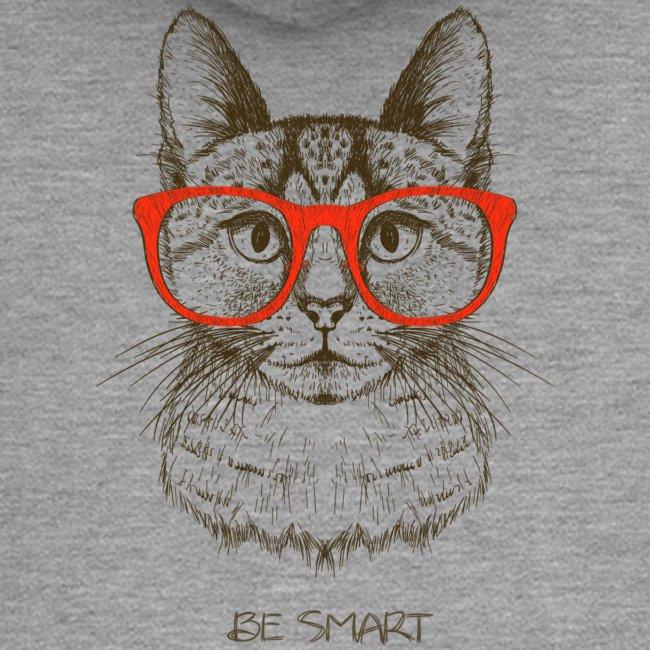 Vorschau: Cat Hipster - Frauen Premium Kapuzenjacke