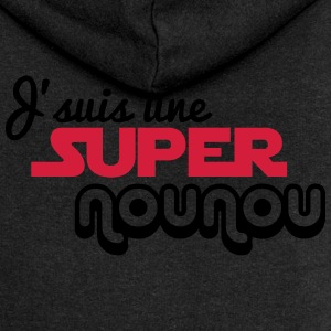 I'm a super nanny - Women's Premium Hooded Jacket