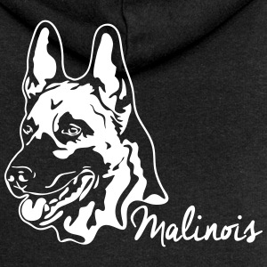 MALINOIS PORTRAIT - Women's Premium Hooded Jacket