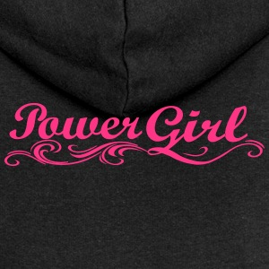 Girl power - Rozpinana bluza damska z kapturem Premium