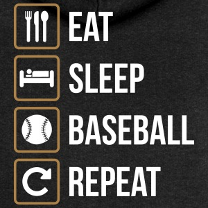Eat Sleep Softball Repeat - Vrouwenjack met capuchon Premium