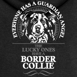 GUARDIAN ANGEL BORDER COLLIE - Frauen Premium Kapuzenjacke