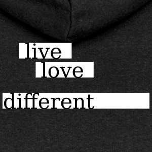 Live love different - Women's Premium Hooded Jacket