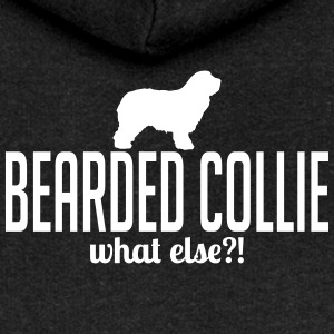 BEARDED COLLIE what else - Women's Premium Hooded Jacket