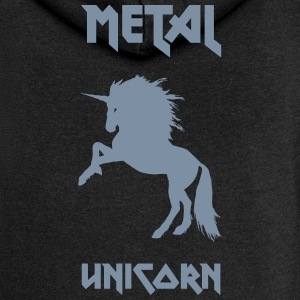 Metal Unicorn - Women's Premium Hooded Jacket