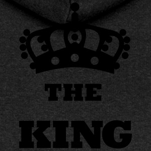 THE_KING - Felpa con zip premium da donna