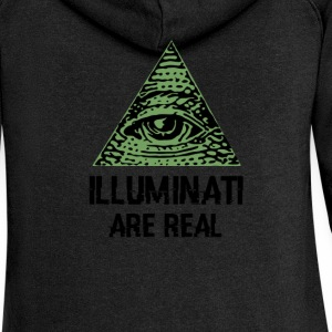Illuminati - Women's Premium Hooded Jacket