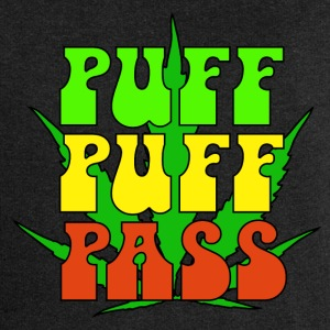 Puff Puff Pass - Women's Premium Hooded Jacket