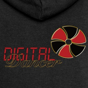 Digital Dancer - Women's Premium Hooded Jacket