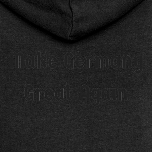 Make_Germany_Great_Again - Felpa con zip premium da donna