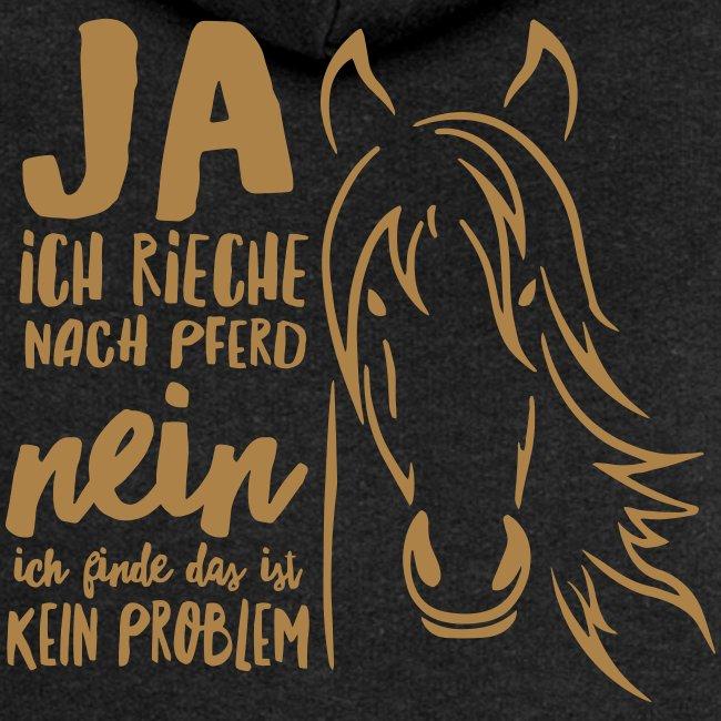 Vorschau: ja ich rieche nach Pferd - Frauen Premium Kapuzenjacke