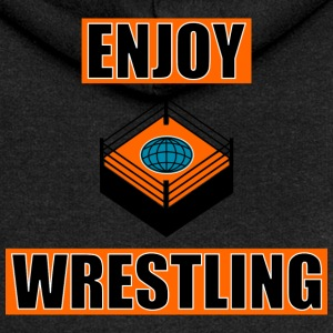 ENJOY_WRESTLING_ORANGE_DesASD - Premium hettejakke for kvinner