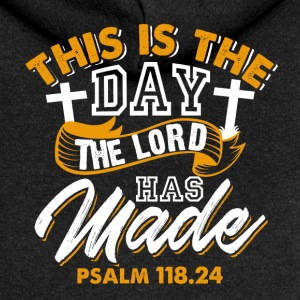 Psalm 118.24 - This is the day the Lord has made - Women's Premium Hooded Jacket
