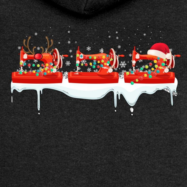 Funny Quilting Machine Christmas