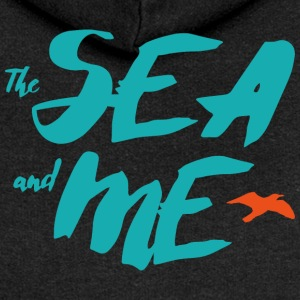 THE SEA AND ME - Frauen Premium Kapuzenjacke