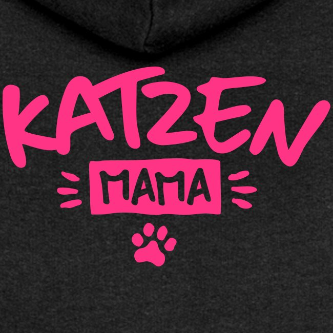 Vorschau: Katzen Mama - Frauen Premium Kapuzenjacke