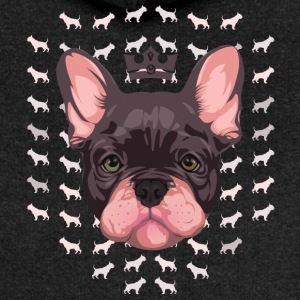 French Bulldog - Premium hettejakke for kvinner